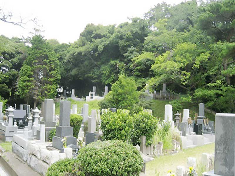 横須賀市営 馬門山墓地 緑豊かな環境