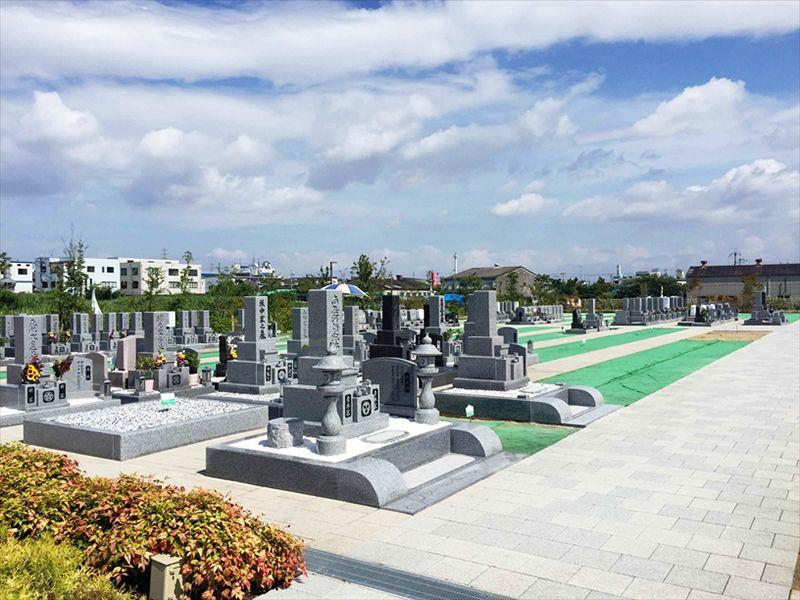 パークフォレスト大阪 整備された墓域