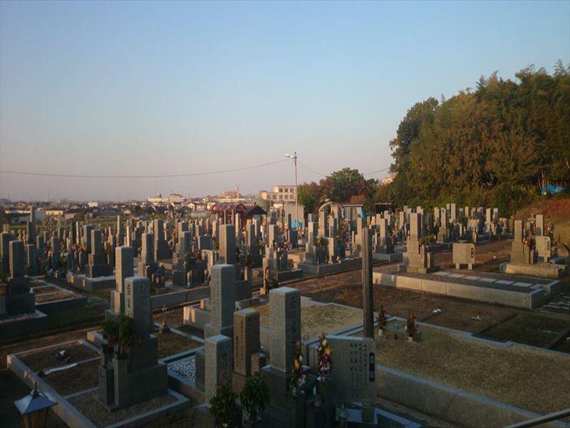 河原城町会墓地