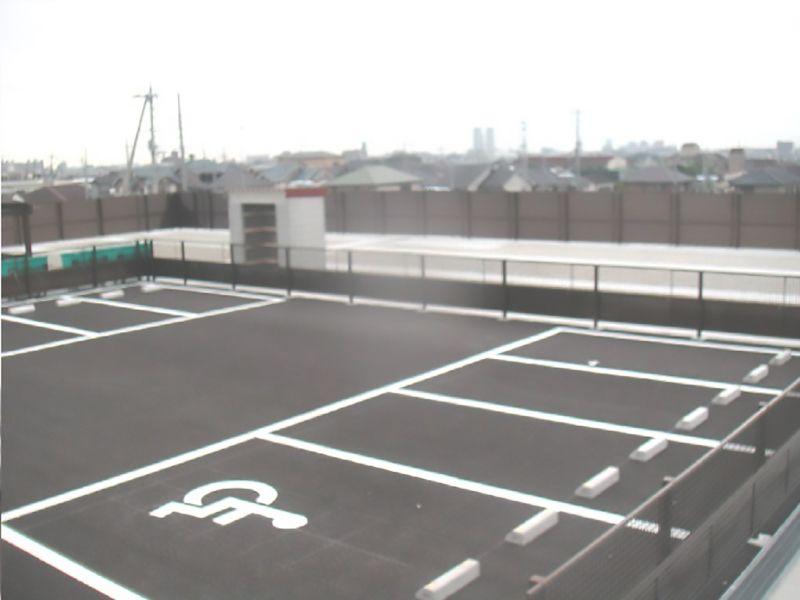 和泉市設 和泉墓地 駐車スペース