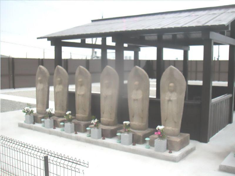 和泉市設 和泉墓地 六地蔵尊
