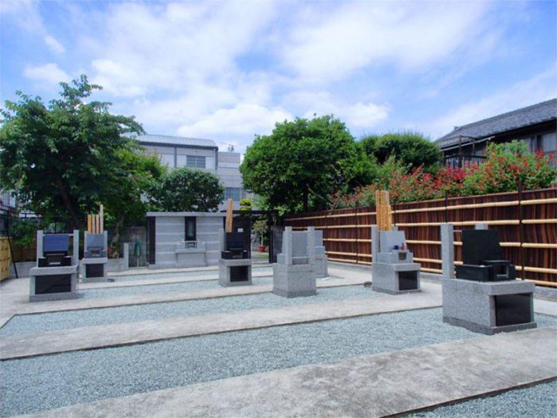 隅田川せせらぎ霊園 日当たり良好の平坦な墓地