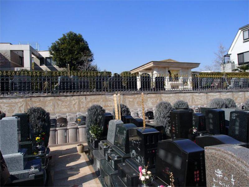 聖和苑 日当たりのよい墓域