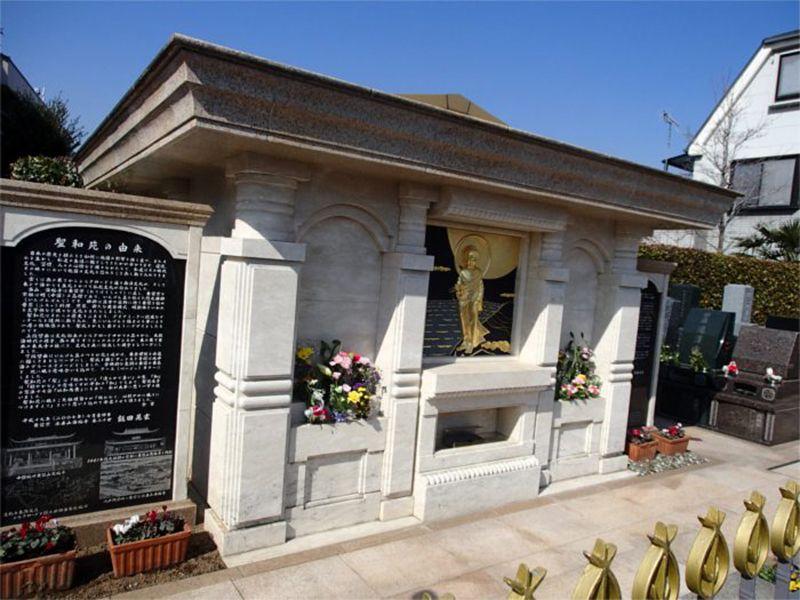 聖和苑 明るい雰囲気の納骨堂