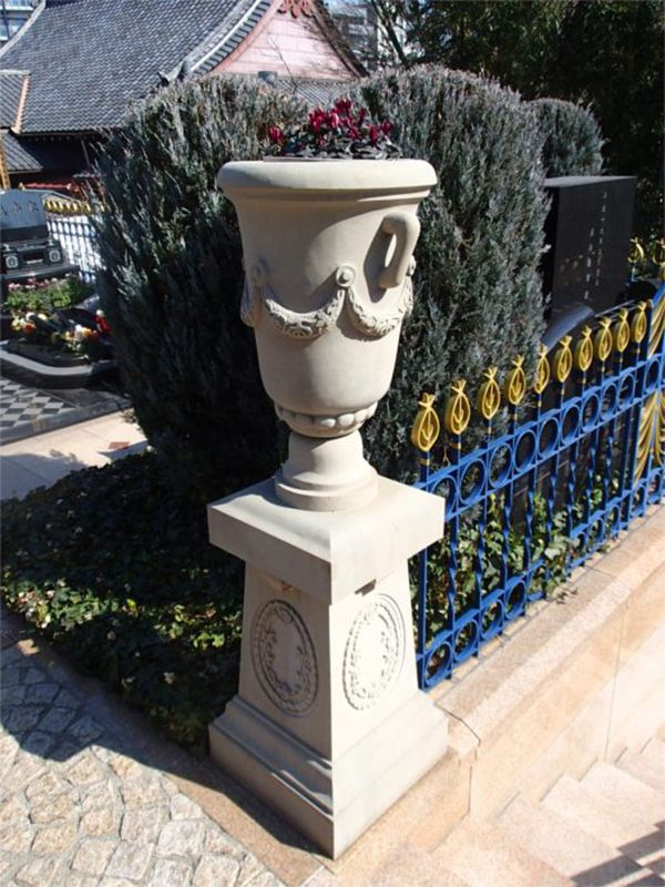 聖和苑 モダンテイストの花壇