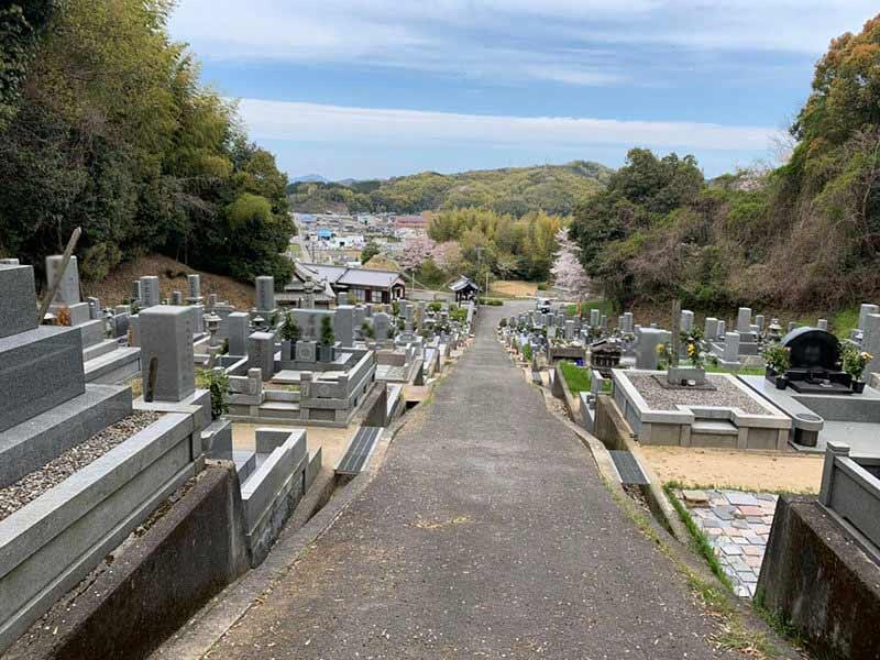 今治市営 紺原墓地