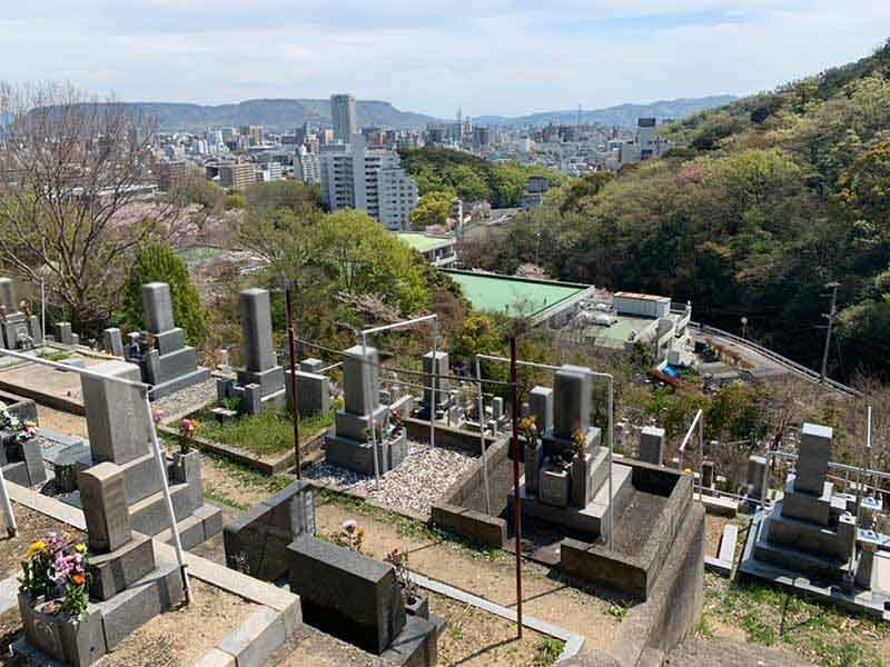 高松市営 峰山墓地