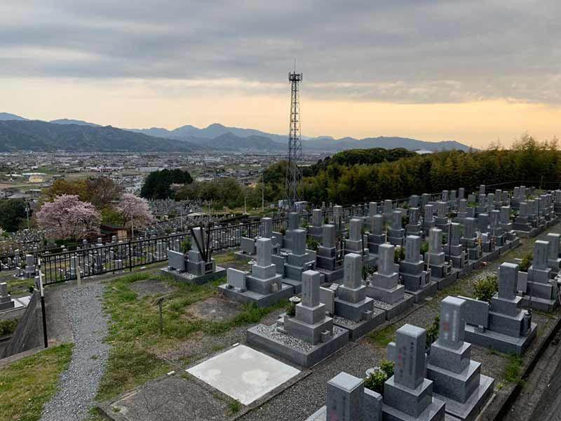 東温市営 志津川墓園