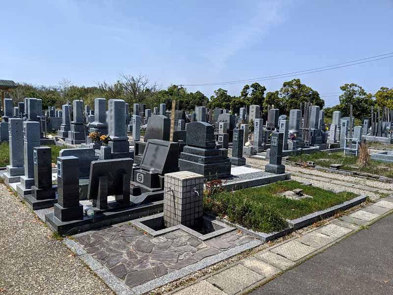 米子市北公園墓地