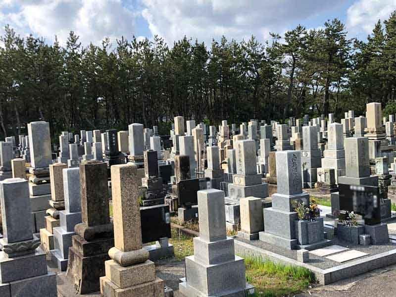 白山市営 湊墓地公苑