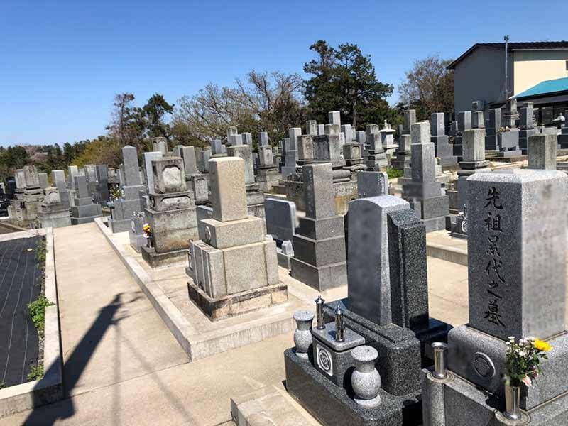 三国南本町墓地