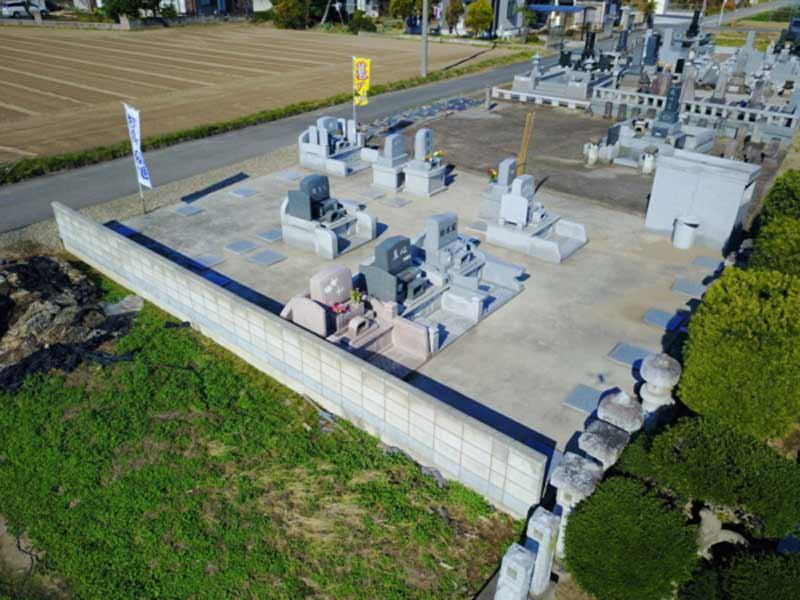 伊勢崎西共同墓地