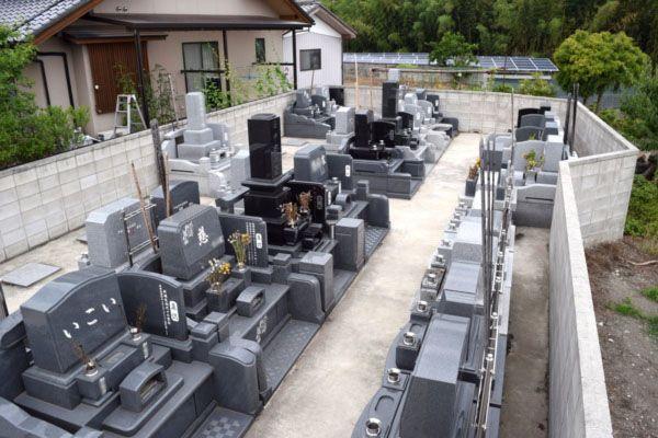 町屋共同墓地