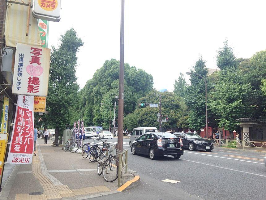 本郷赤門前霊園11