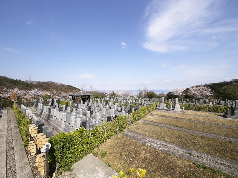 大阪柏原聖地霊園 風通しがよい墓地