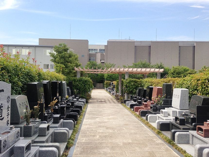上石神井霊園5
