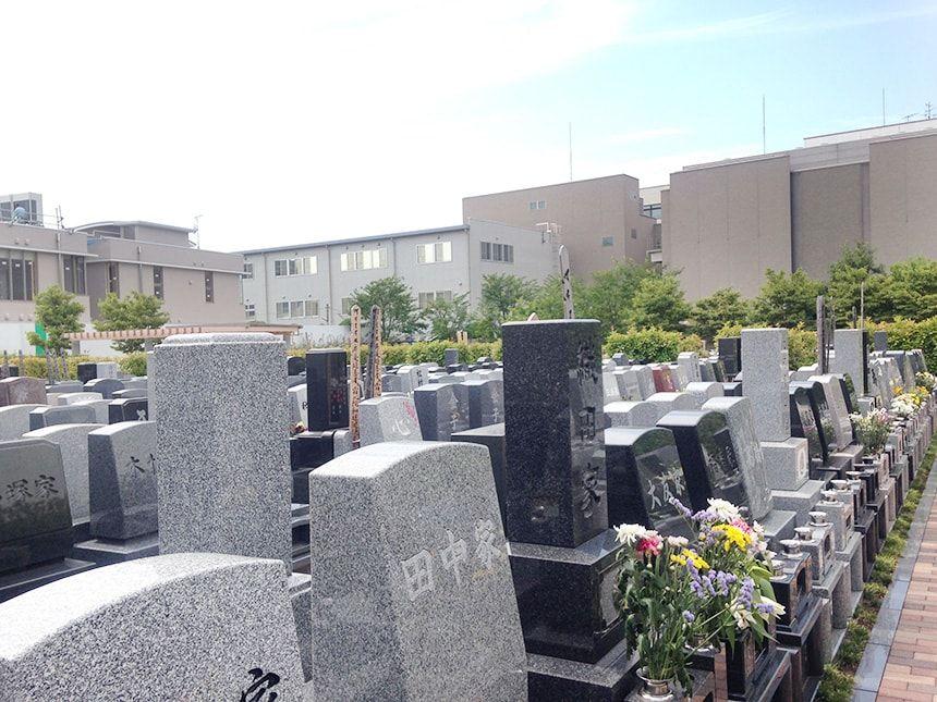 上石神井霊園15