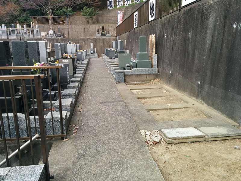 般若院 和型墓石