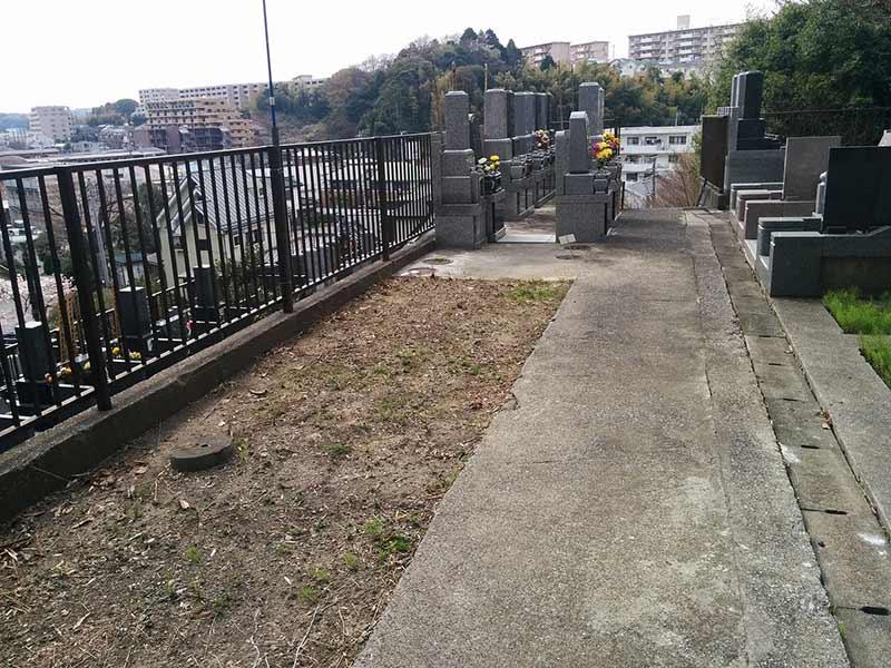 般若院 一般墓所風景