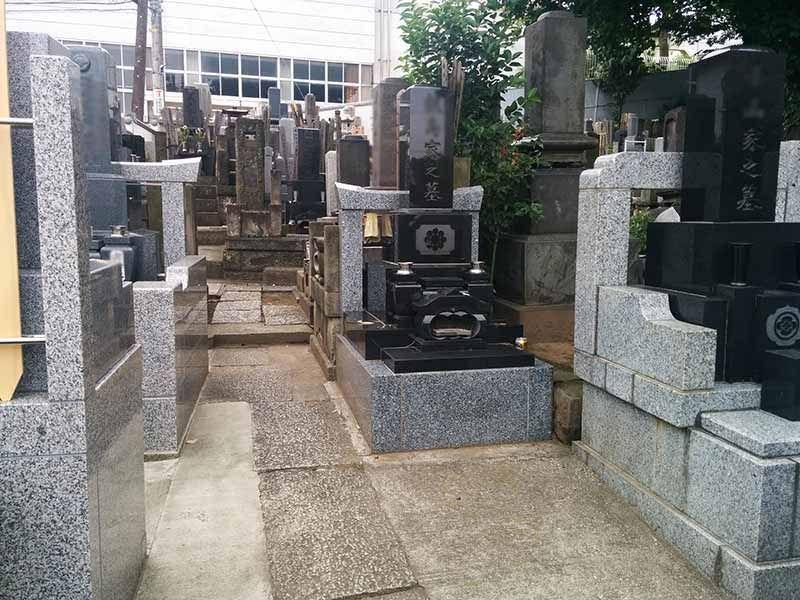 宗興寺 整備された区画