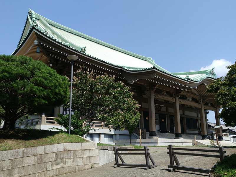大本山 總持寺(総持寺) 重厚感のある本堂