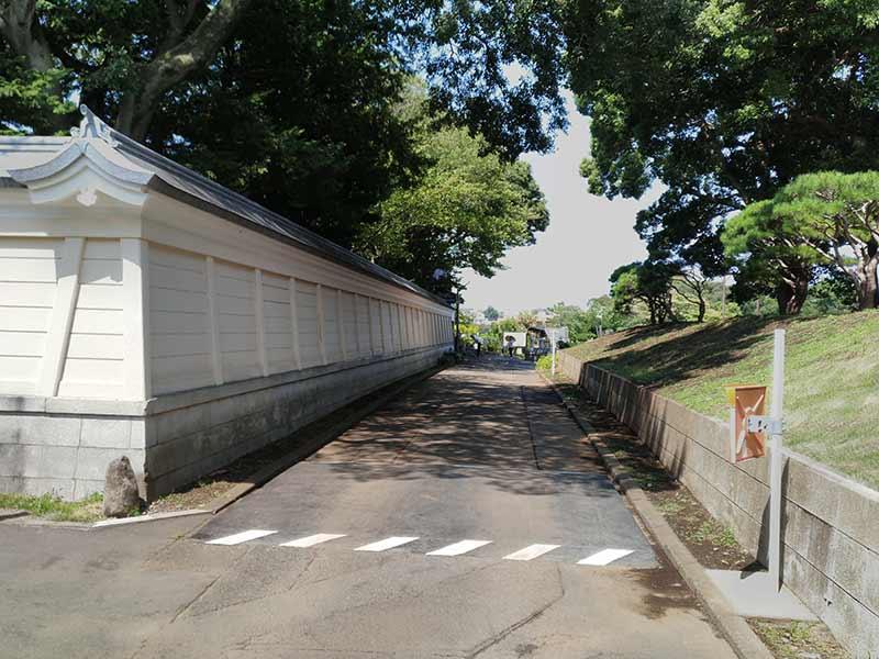 大本山 總持寺(総持寺) 緑のトンネル