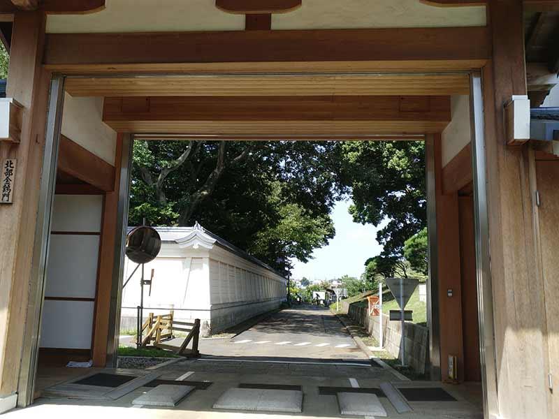 大本山 總持寺(総持寺) 北部金鶏門