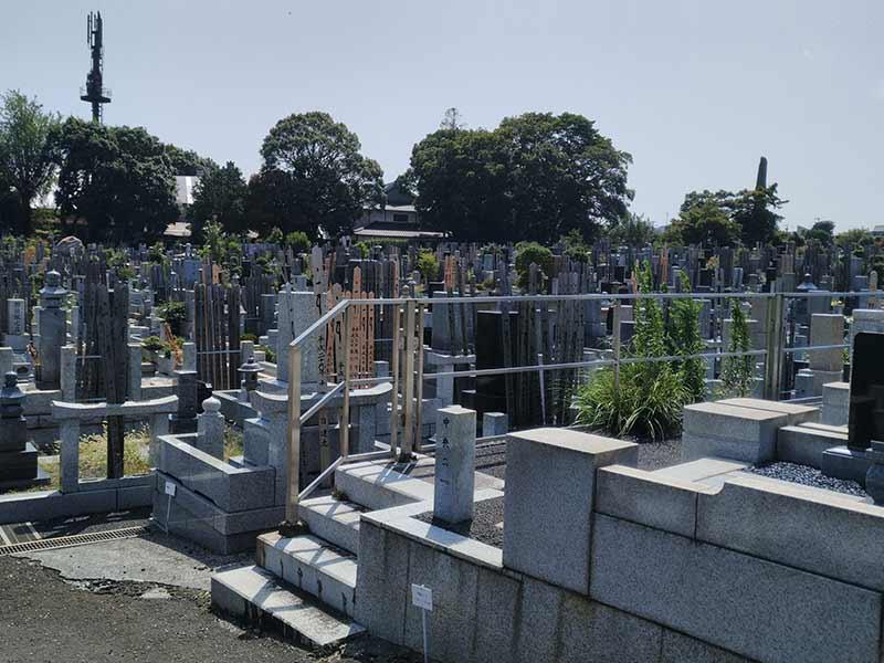 大本山 總持寺(総持寺) 一般墓域風景