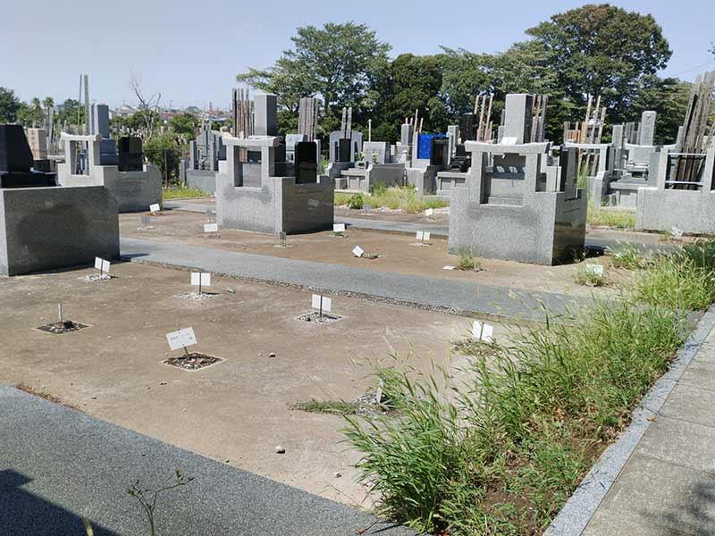 大本山 總持寺(総持寺) 区画整理された墓域