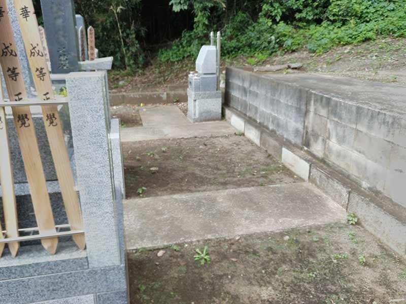 妙秀山 樹源寺 洋型墓石