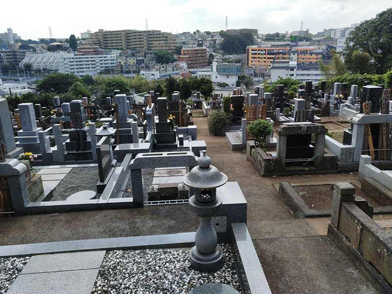 妙秀山 樹源寺 一般墓域風景
