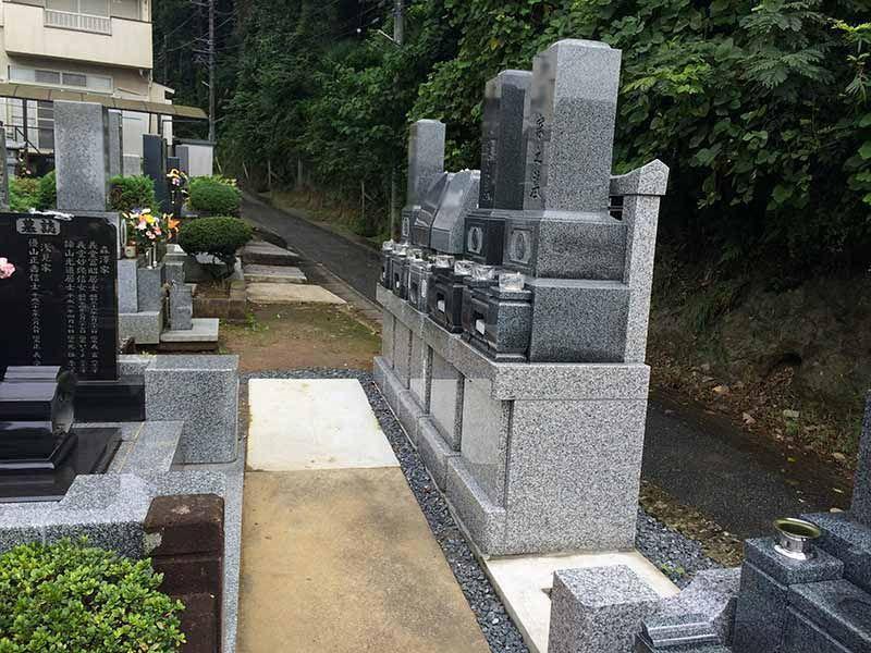 東光寺 和型・洋型墓石