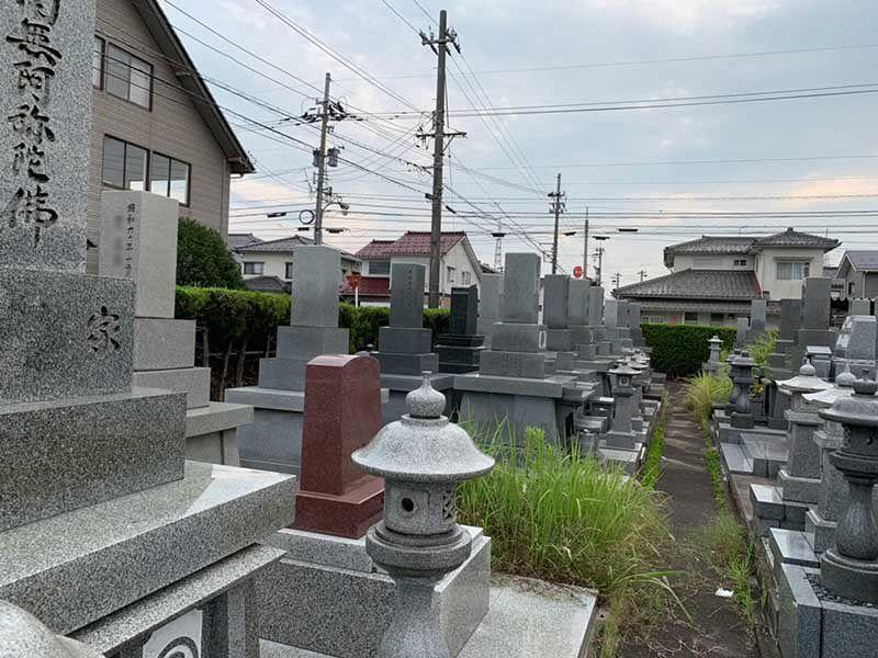 射水市営 大島墓地