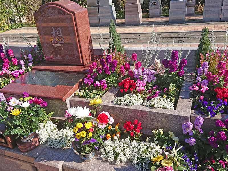 世田谷やすらぎ墓苑 花壇葬セレナージュ 花壇葬「セレナージュ」