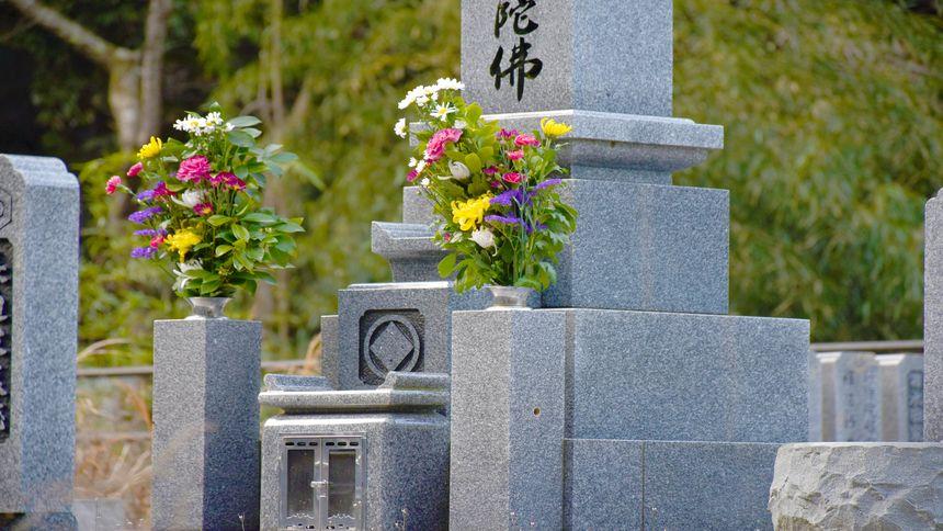 和型墓石のお墓