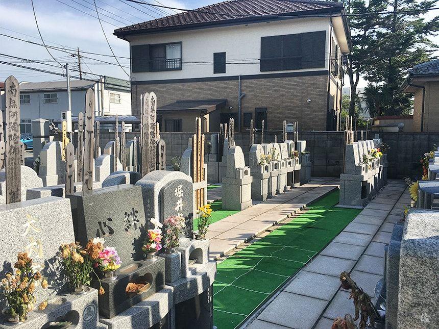 舎人駅前霊園9