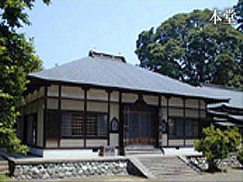 金剛寺 自然に包まれた本堂
