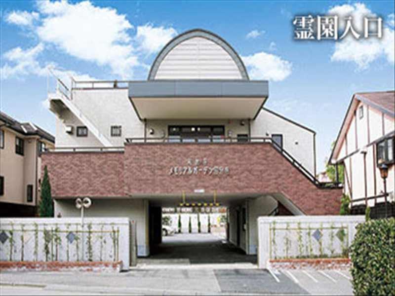 和光寺 メモリアルガーデン国分寺 広い霊園入り口
