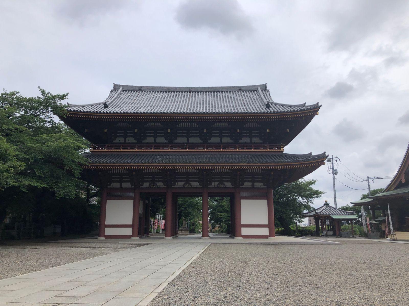 日蓮宗大本山 長栄山 池上本門寺 歴史ある寺門