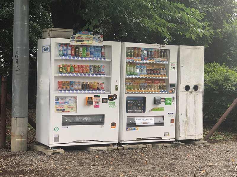 日蓮宗大本山 長栄山 池上本門寺 自動販売機も完備