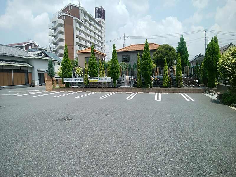 円通寺 とねり聖地 駐車スペース