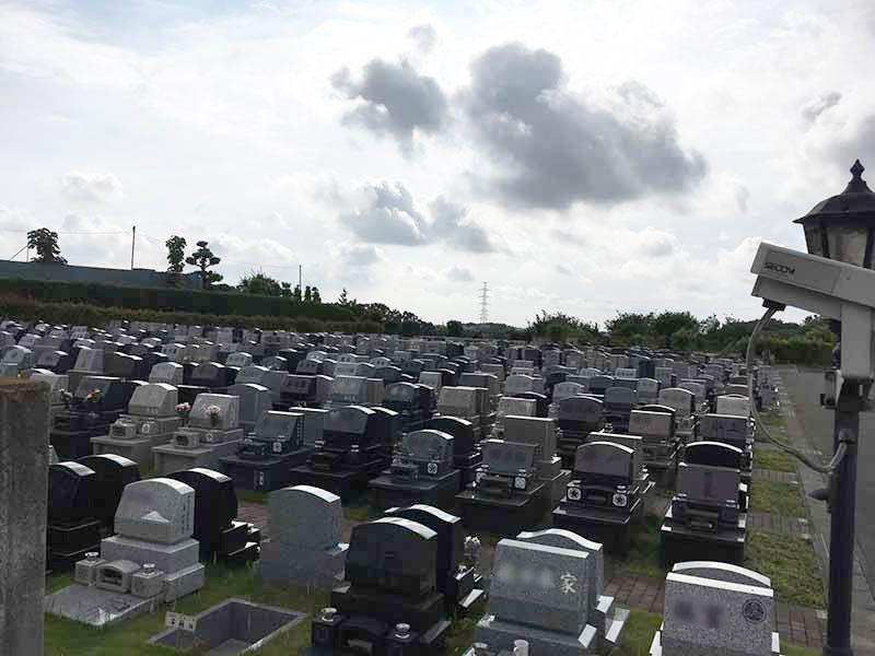 南大沢バードヒルズ 洋型墓石