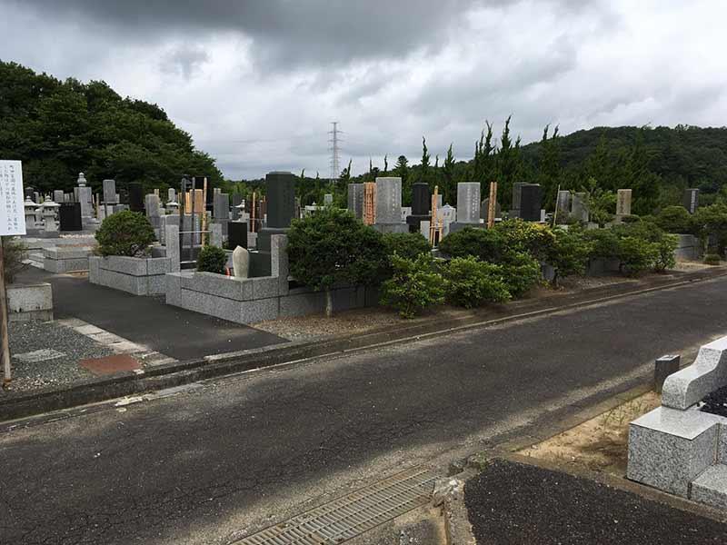 バリアフリー設計の墓 バリアフリー設計の墓域