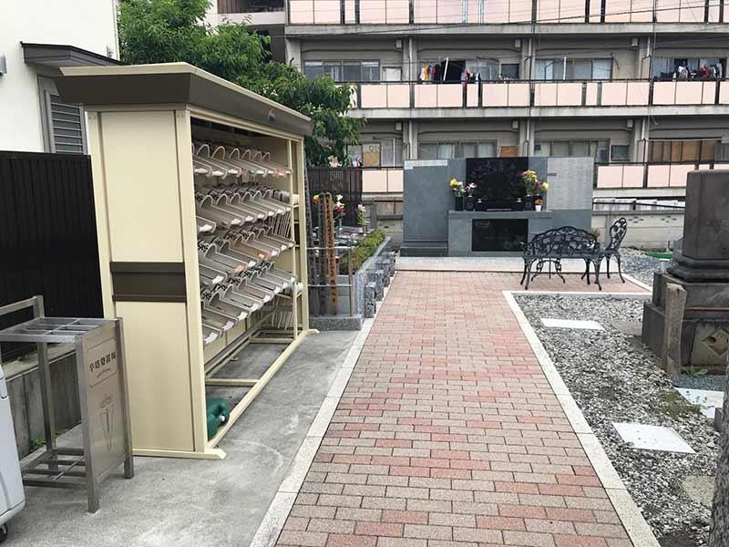 シムティエール山手の杜 バリアフリー設計の参道