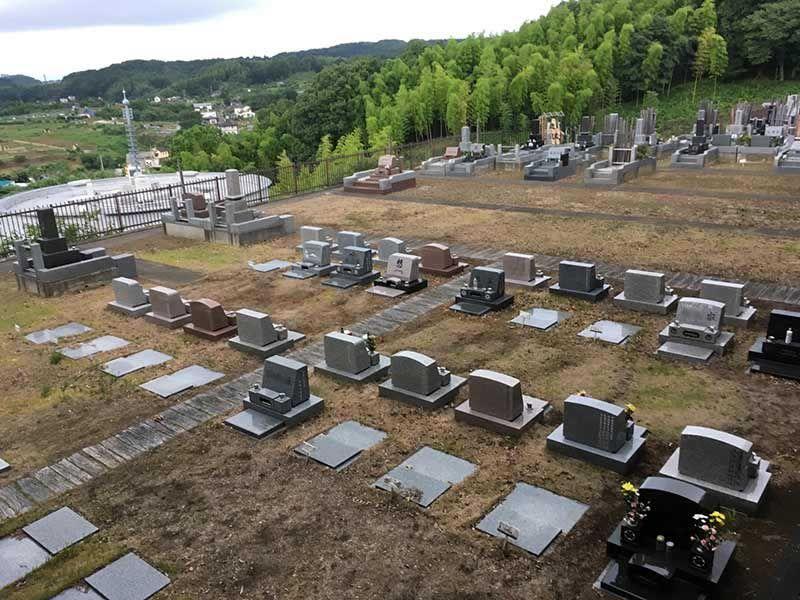 ゆぎ霊苑 ゆとりのある芝生墓地