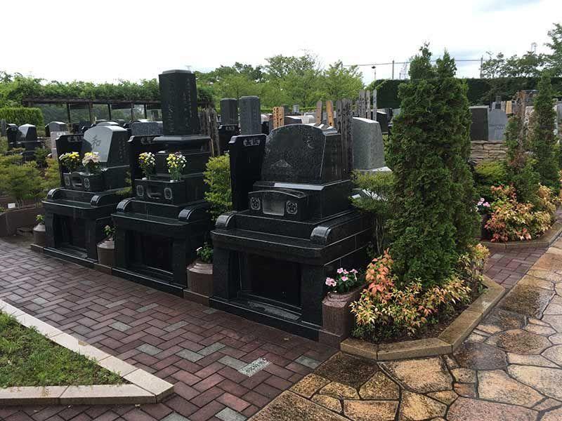 合掌の郷 町田小野路霊園 水はけの良い墓域