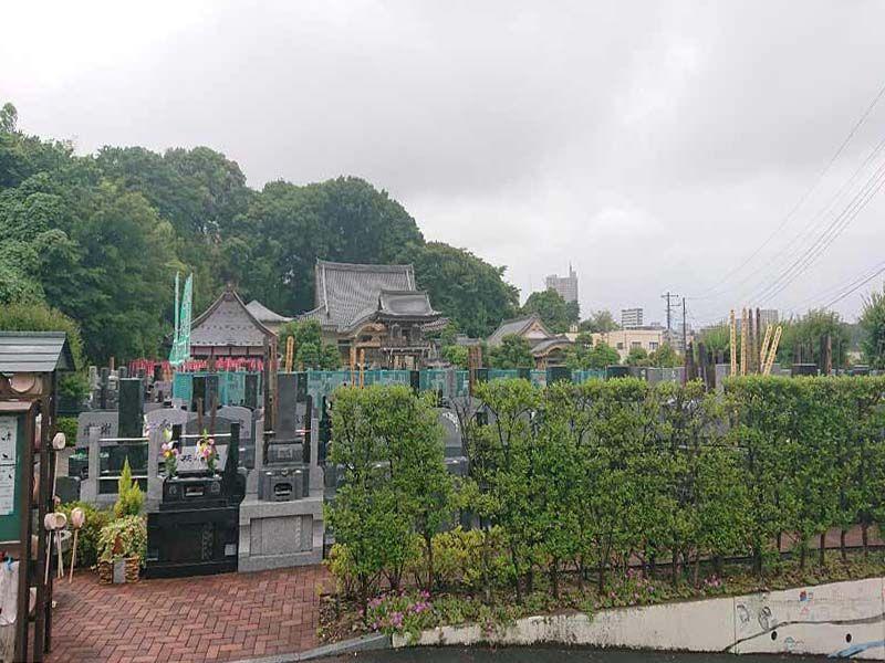 梅花の郷 光明浄苑 緑の多い霊園風景②