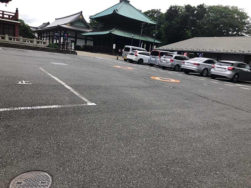 大田妙樹苑 樹木葬墓地 駐車スペース