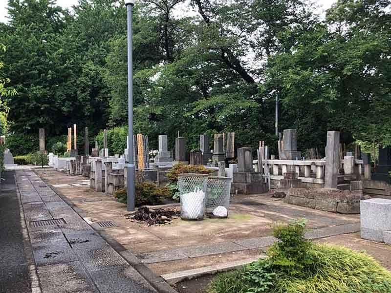大田妙樹苑 樹木葬墓地 風通しの良い苑内
