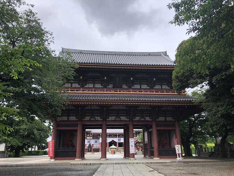 大田妙樹苑 樹木葬墓地 立派な門構え